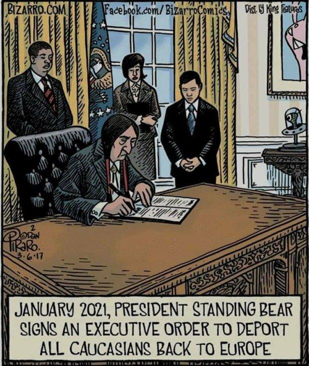 President Standing Bear
