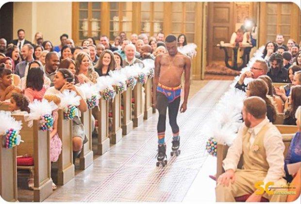 Roller Skate Wedding