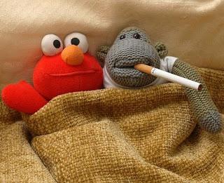 Smoking Puppets