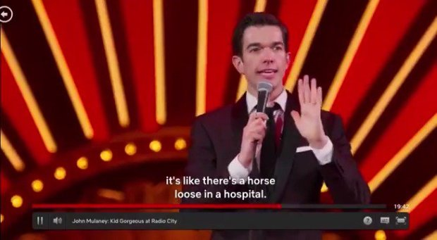 John Mulaney Horse Loose In The Hospital