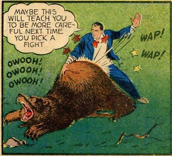Spank The Bear