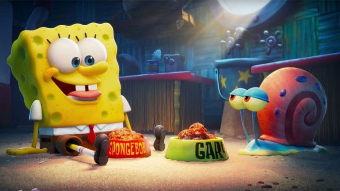 Sponge and Gary