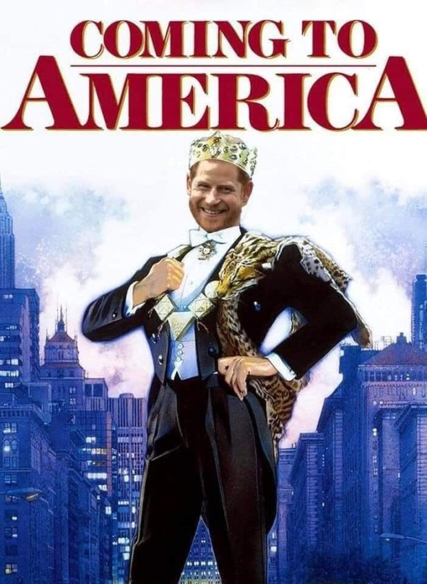 Prince Harry Coming To America