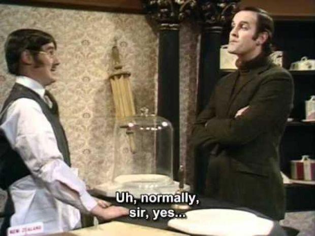 Monty Python Cheese Shop