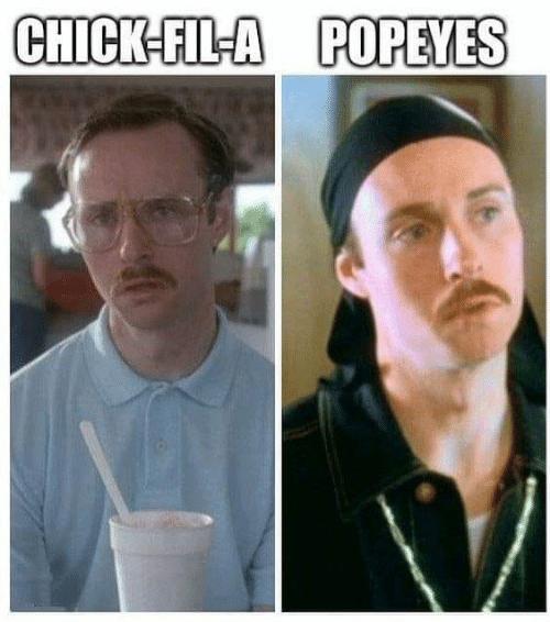 Popeyes Chik-Fil-A