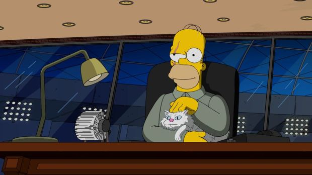Simpsons James Bond_2