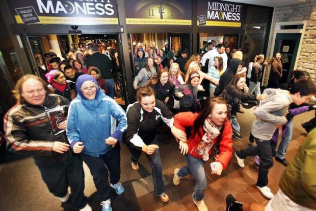 White People Black Friday